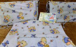Защита постель на детскую кроватку
