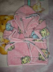 Махровый халатик для маленькой леди