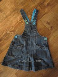 Стильный джинсовый сарафан NEXT