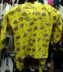 Пижамки из натуральной байки с начесиком производства Украины по супер цене