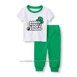 Трикотажные пижамы, Америка, хлопок, от 6 месяцев