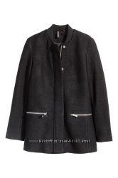 Куртка из смесовой шерсти HM