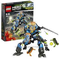 LEGO HERO FACTORY 44028 БОЕВАЯ МАШИНА СУРЖ И РОКИ