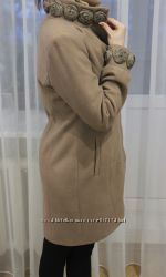 Красивое классическое пальто