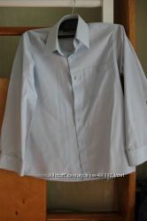 Школьные рубашки разм. 128-134, 134-140