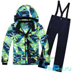 Зимние лыжные термокостюмы PHIBEE для мальчиков и девочек