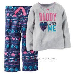 Флисовая пижамка Carters 3Т