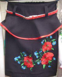 Вышитые школьные  юбки по ценам производителя