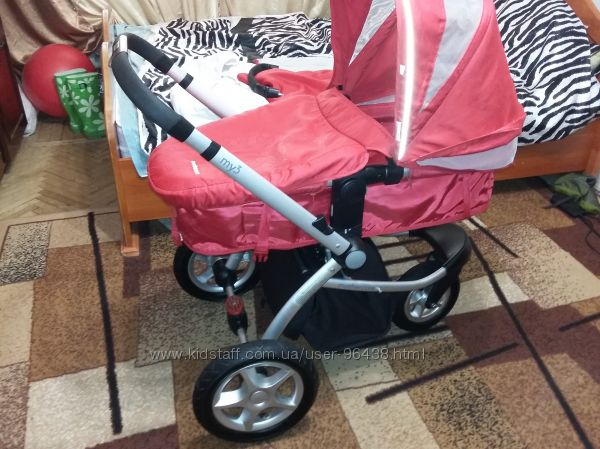 Супер коляска Mothercare MY3 в хорошому стані.