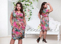 Платье красивых размеров в наличии. 50-56р