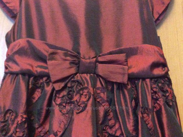 Чарівна нарядна сукня Mothercare, 6-7 років.