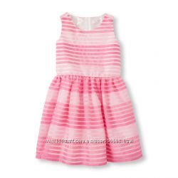 Качественное нарядное платье Childrens Place на 10 лет