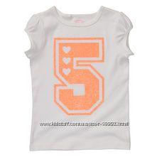 Распродажа на 5 лет футболки, майки Carters, Crazy8