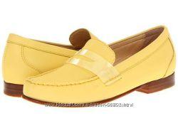 Стильные желтые лоферы Cole Haan. 26, 3см стелька, шикарное качеств