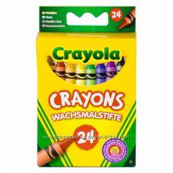 Восковые карандаши Крайола Crayon colors от Crayola 24 шт. в наличие