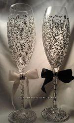 Свадебные бокалы. Подарок