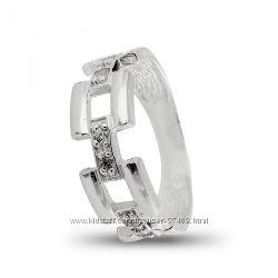 Стильное кольцо серебро925. р. 16. 5
