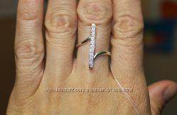 Оринальное серебряное кольцо. Р. 16. 5 и 18