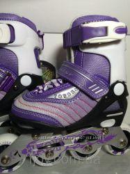 Роликовые коньки для куколки  Maraton Topbest TB11A 27-30