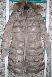 Пальто пуховик Naf-Naf р. 36