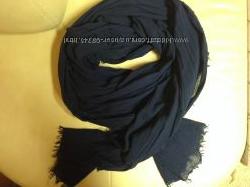 Стильный шарф pieces синий  актуальный цвет