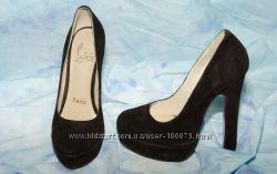 Туфли коричневые Christian Louboutin