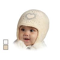 Красивые зимние шапочки для девочек.