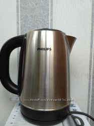 Электрочайник PHILIPS HD-9320 Нержавеющая сталь черный
