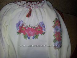 Вышиваночка с нанесенной схемой под вышивку
