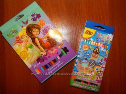 Яркие и цветные карандаши OLLI Disney, Круть-Верть