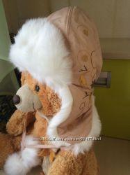 шапка зимняя для вашей куколки р 56