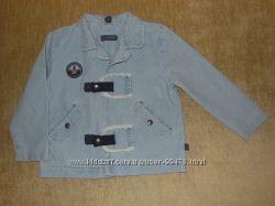 Джинсовый пиджачок для стиляжки