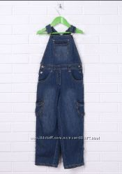 Модные детские джинсовые комбинезоны PIDILIDI р. 98-104