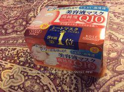 Японские увлажняющие маски Q10