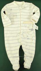 Флисовый человечек George 6-9 месяцев. Англия