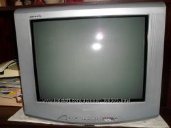 Телевизор Горизонт  плоский экран диагональ 21 дюйм