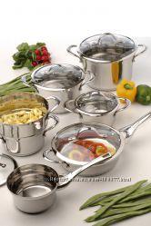 Наборы посуды Berghoff со стеклянными крышками. Наличие