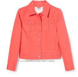 Джинсовая куртка-пиджак, Манго