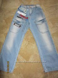 Летние джинсы Gee Jay 6-7 лет 122 рост