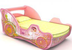 Кровать-карета, мебель для девочки