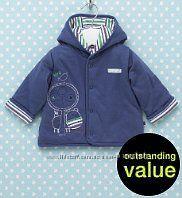 Стильная двухсторонняя курточка для малыша от Marks & Spencer