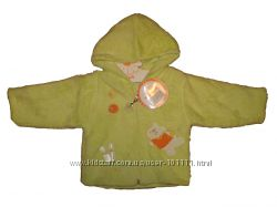 Пушистая тепленькая курточка 68, 74, 80 Турция