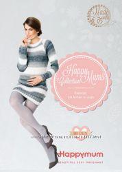 Колготки для беременных Нappymum 80 DEN размер 3 цвета Мокка и Пепельный