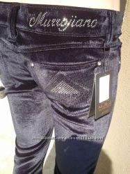 Бархатные штанишки скинни Murrojiano S XS
