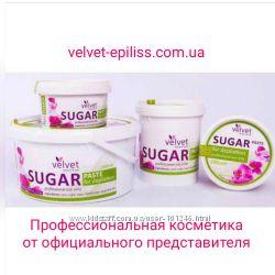 сахарная паста для шугаринга ТМ Velvet Официально