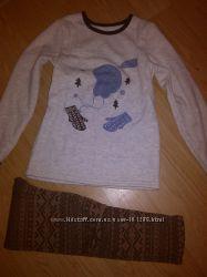 Мягенькая тепленькая пижамка
