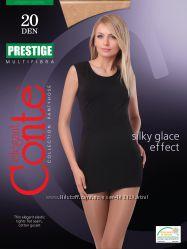 Колготки жіночі Conte PRESTIGE, без шортиків, плоскі шви, 12, 20, 40 ден