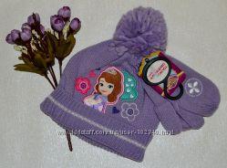 В наличии. Теплые шапки, варежки H&M, C&A, Primark для девочек.