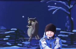 Видео с вашим ребенком в любимом мультике