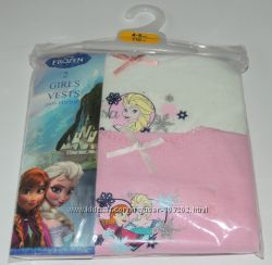 Маечки для принцесс от 2 до 10 лет Ну очень милые цвета и рисунки